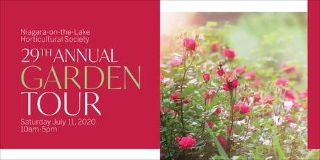 NOTL Horticultural Society 29th Annual Garden Tour  tickets