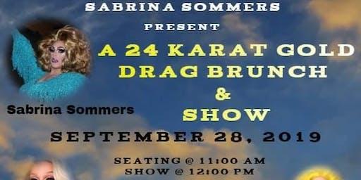24 carat drag brunch