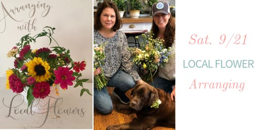 Local Flower Arranging w. Harbor Homestead - Sat., 9/21