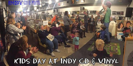 Monthly KIDS DAY at Indy CD & Vinyl with Mr. Daniel
