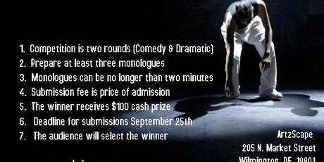 The Monologue Slam tickets