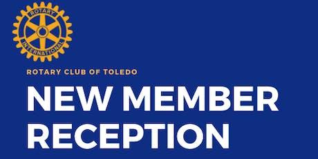 New Member Reception September 19 tickets