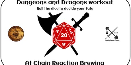 Dungeons and Dragons Workout tickets