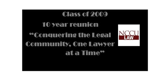 NCCU Law Class of 2009 Reunion