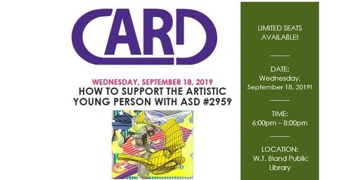 How To Support The Artistic Young Person With ASD #2959