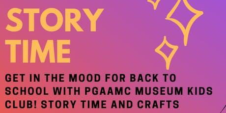 PGAAMCC Story Time: Museum Kids Club tickets
