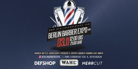 Berlin Barber Expo 2019 Tickets