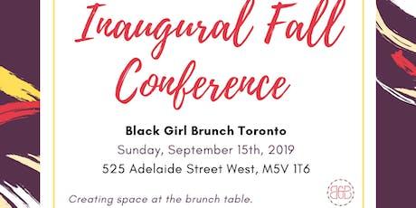 BGB Toronto: Inaugural Fall Conference 2019 tickets