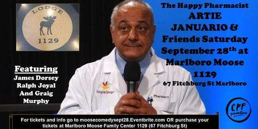 ARTIE JANUARIO & Friends Saturday September 28th at Marlboro Moose 1129