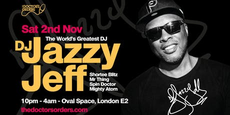 DJ Jazzy Jeff at Oval Space tickets