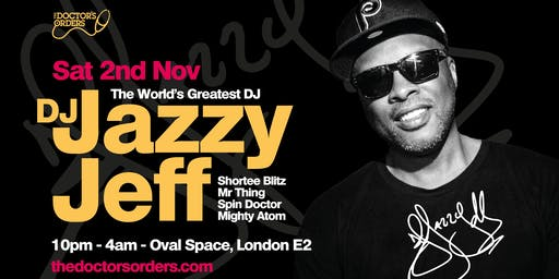 DJ Jazzy Jeff at Oval Space