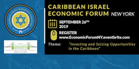 Caribbean Israel Economic Forum New York tickets