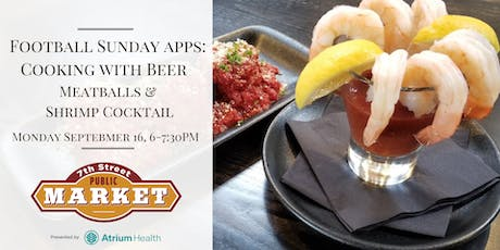 Football Sunday Apps: Cooking with Beer tickets