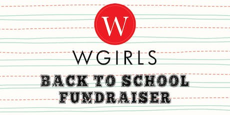 WGIRLS Back to School Fundraiser tickets