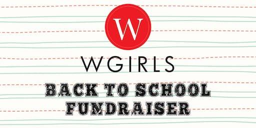 WGIRLS Back to School Fundraiser
