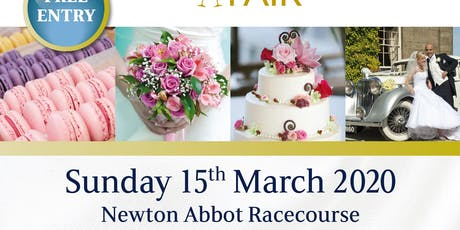 Newton Abbot Racecourse Wedding Fayre tickets
