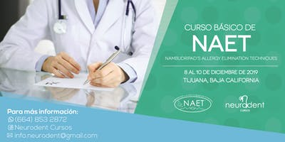 Curso Básico NAET en Tijuana