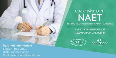 Curso Básico NAET en Tijuana tickets