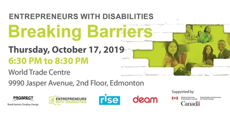 Entrepreneurs with Disabilities, Breaking Barriers! tickets