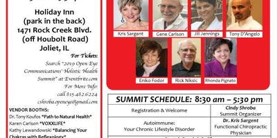 2019 Open Eye Communications' Holistic Health Summit
