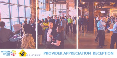 Provider Appreciation Reception tickets