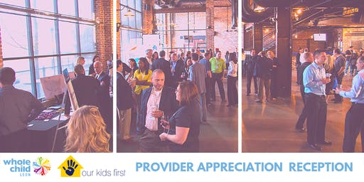Provider Appreciation Reception