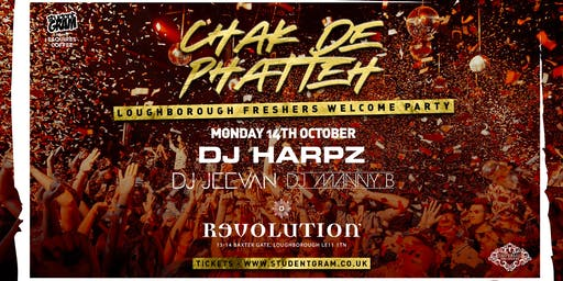 CHAK DE PHATTEH ★ FRESHERS WELCOME PARTY ★ THIS EVENT WILL SELL OUT!