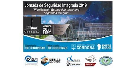 Jornada de Seguridad Integrada 2019 entradas