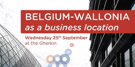 Business Seminar - Discover Belgium Wallonia as a potential location for your business tickets