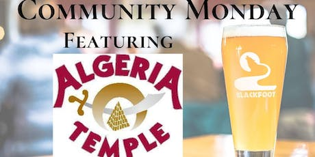Community Monday with Algeria Shriners International tickets