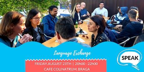 SPEAK Language Exchange tickets