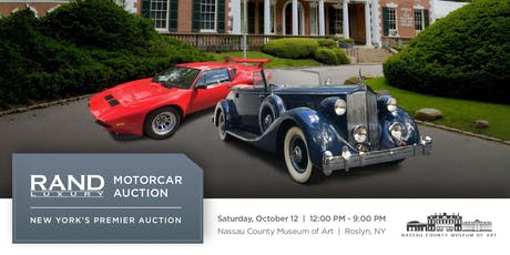 RAND Luxury Motorcar Auction tickets