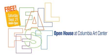 Columbia Art Center: Fall Fest tickets