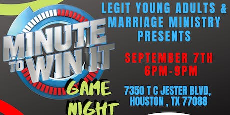Minute To Win It: Game Night tickets