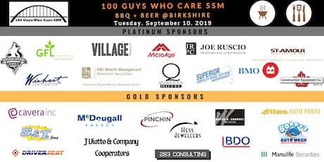 100 Guys Who Care SSM - Ruscio Residence tickets