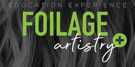 Foilage Artistry + (Arroyo Grande, CA.) tickets