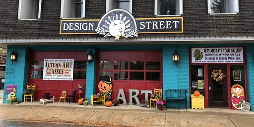 Arts and Eats Tour of Southwest Michigan- Stop in at Design Street!