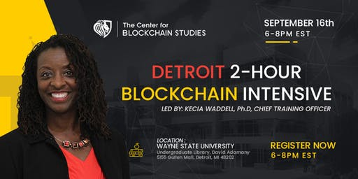 Detroit Blockchain Intensive