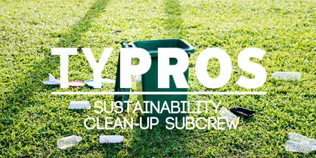 TYPROS Sustainability Crew: Clean-Up Riverside tickets