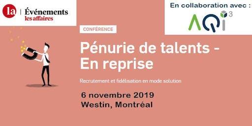 Conférence Pénurie de talents - Événements Les Affaires