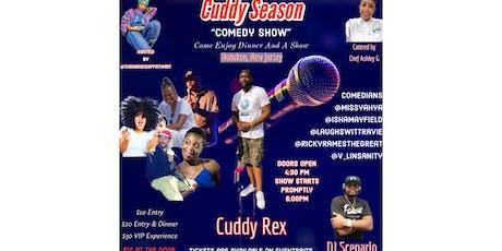 Cuddy Season Comedy & Dinner Event  tickets