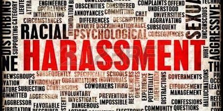 Harassment Avoidance Training Webinar - September 12, 2019: 1 p.m. - 3 p.m. tickets
