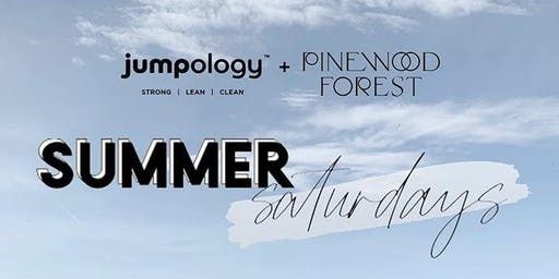 Jumpology Summer Saturdays at Pinewood Forest