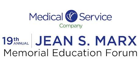 2019 Jean S. Marx Memorial Educational Forum tickets