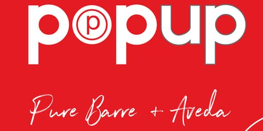 Pure Barre x Aveda Pop Up