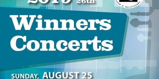 Winners Concerts for 2019 USIMC