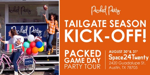 Packed Party Gameday Tour Kick-Off With Urban Outfitters and Lucky Lab!