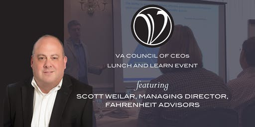 """Lunch & Learn (C'ville): """"How to Build and Lead a Hunter-focused Sales Team"""""""