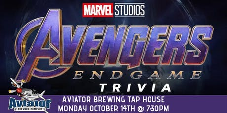 Avengers:Endgame Trivia at Aviator Tap House tickets
