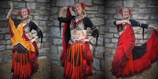 Tribal Fusion Belly Dance (Thurs @ 6)